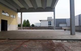 Pavimento industriale in calcestruzzo