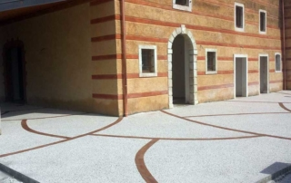 Pavimento in sasso italia o sasso lavato